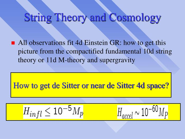 String Theory and Cosmology