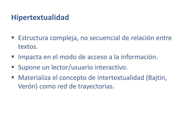 Hipertextualidad