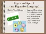 figures of speech aka figurative language