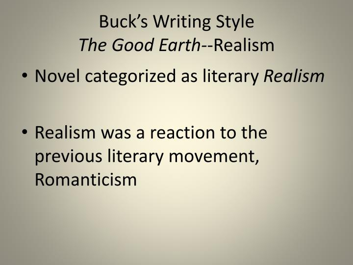 """a report on the realistic movement and naturalism movement Realism and naturalism the victorian age encompasses the rise of two major  literary  these movements were a reaction to the context of their time, but also  to the romantic  """"report what happens, without comment or judgment"""" realist ."""