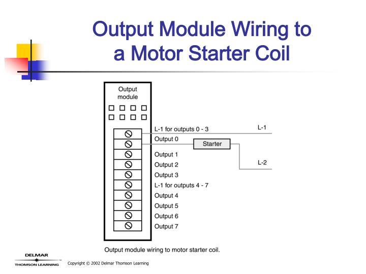 Output Module Wiring to