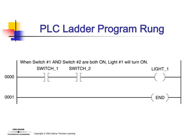 PLC Ladder Program Rung