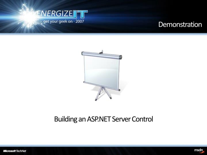 Building an ASP.NET Server Control
