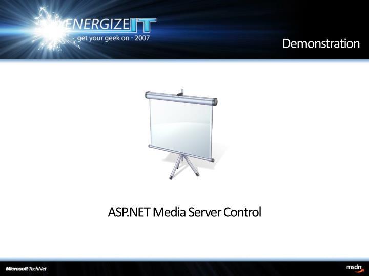 ASP.NET Media Server Control