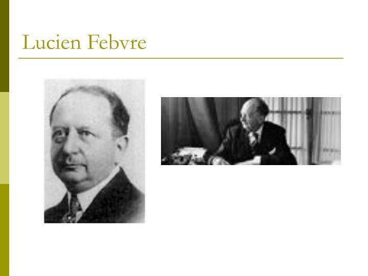 Lucien Febvre