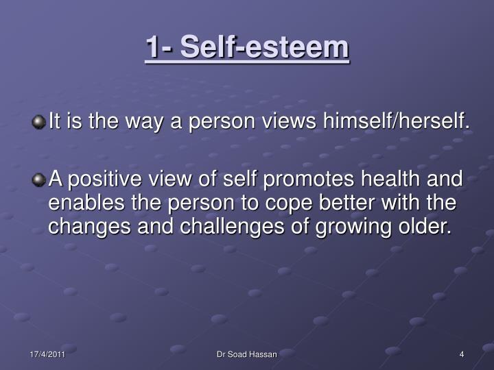 1- Self-esteem
