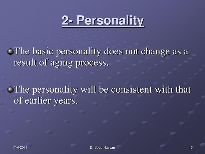 2- Personality