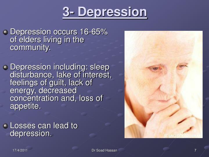 3- Depression