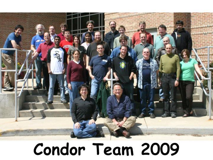 Condor Team 2009
