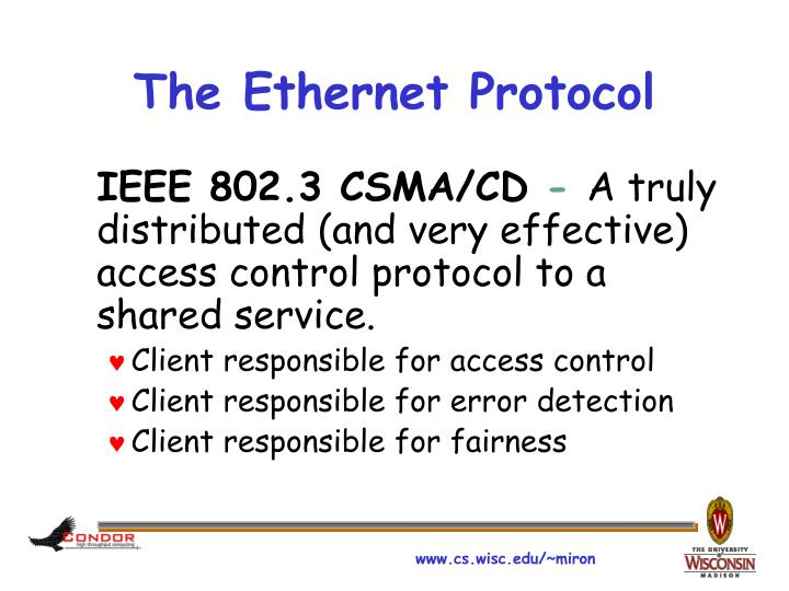 The Ethernet Protocol