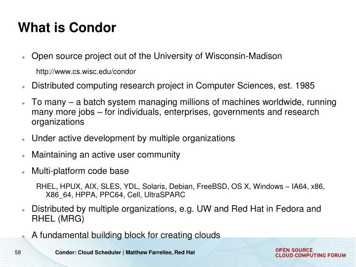 What is Condor
