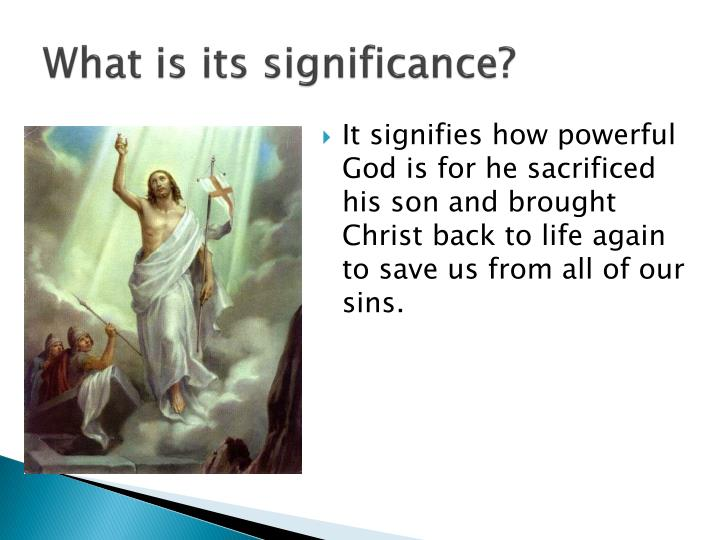 What is its significance?
