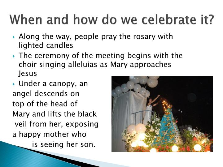 When and how do we celebrate it?