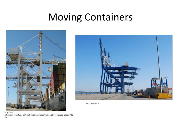 Moving Containers