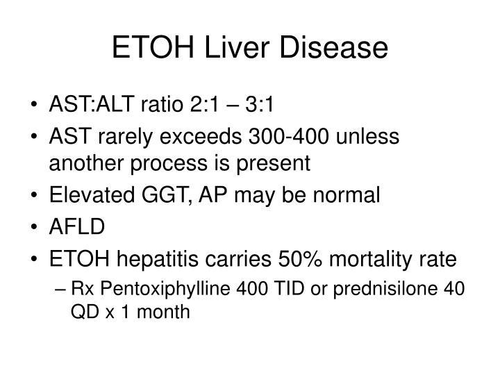 ETOH Liver Disease