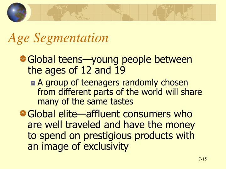 Age Segmentation