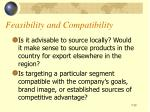 feasibility and compatibility1