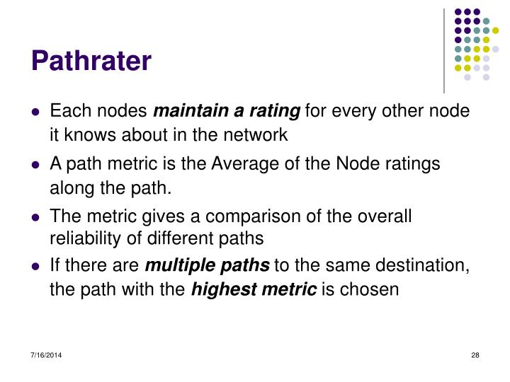 Pathrater