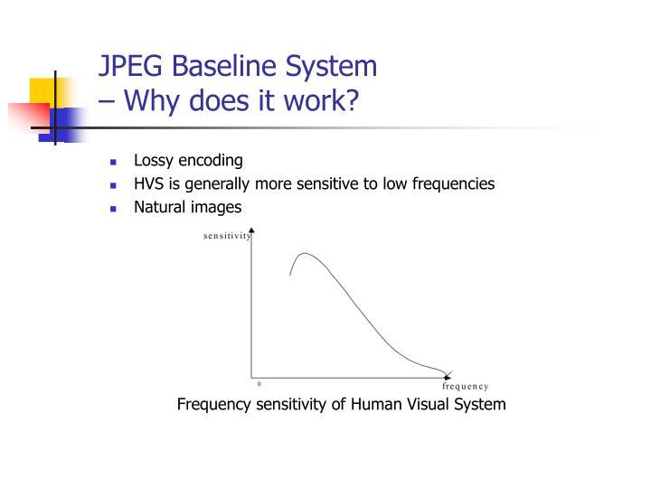 JPEG Baseline System