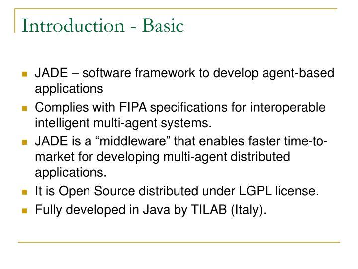 Introduction - Basic