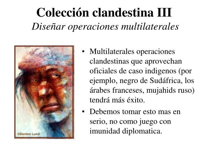 Colección clandestina