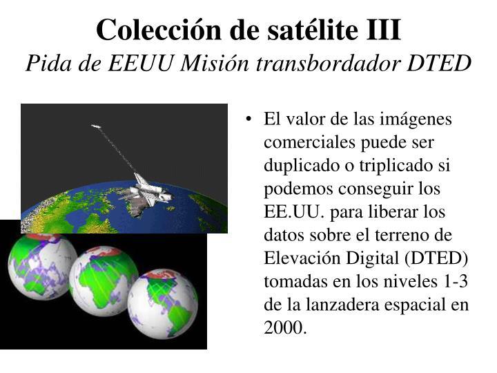 Colección de satélite