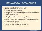 behavioral economics1