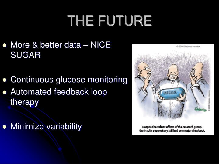 More & better data – NICE SUGAR