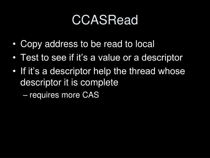CCASRead
