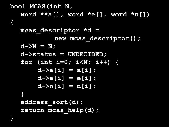 bool MCAS(int N,