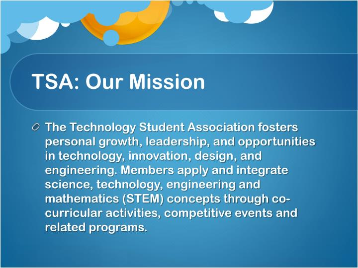 TSA: Our Mission