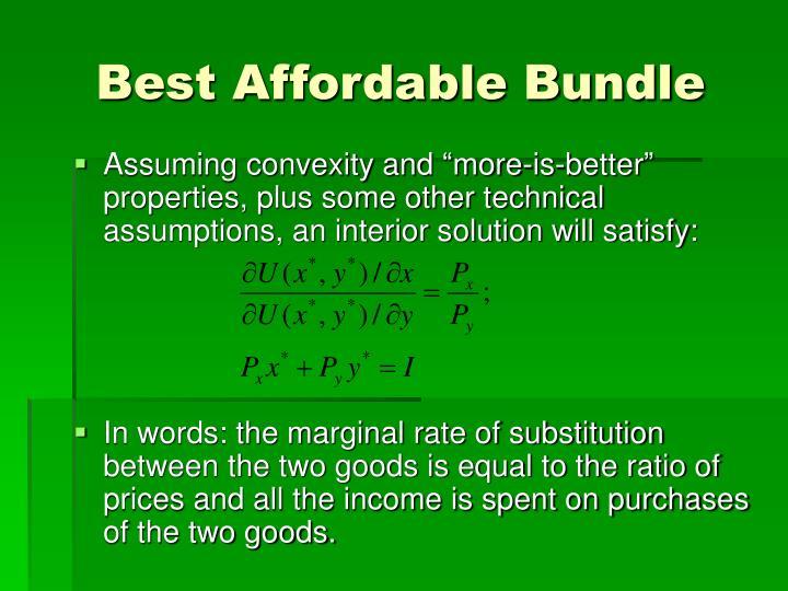 Best Affordable Bundle