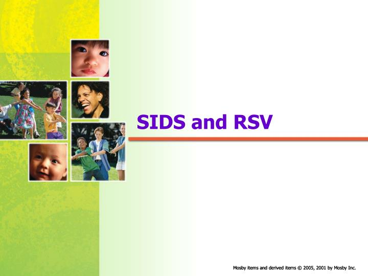 Sids and rsv