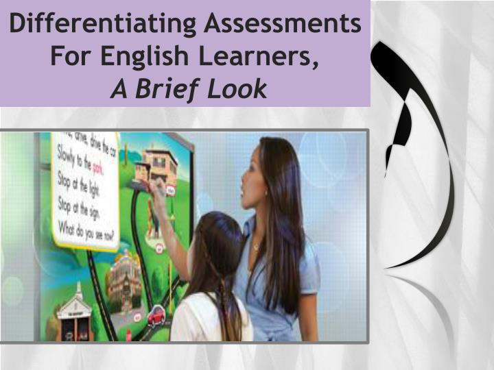 Differentiating Assessments