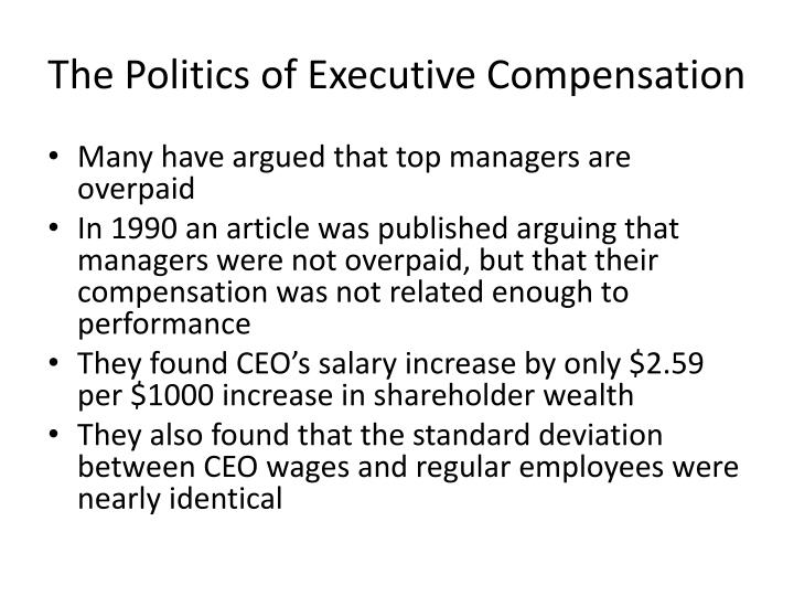The Politics of Executive