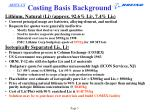 costing basis background1