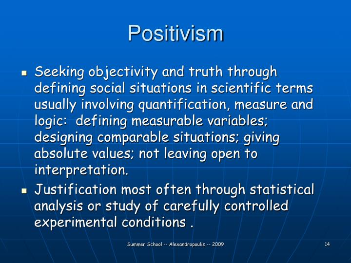 Positivism