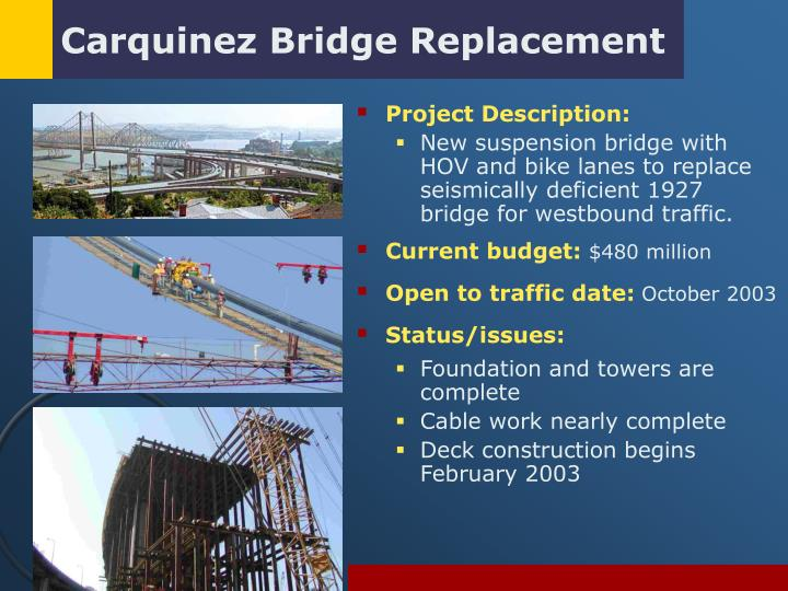 Carquinez Bridge Replacement
