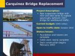 carquinez bridge replacement