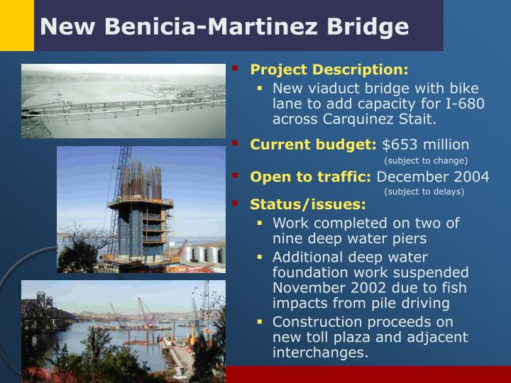 New Benicia-Martinez Bridge
