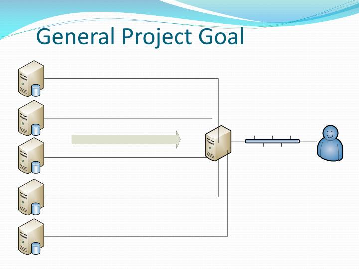 General project goal