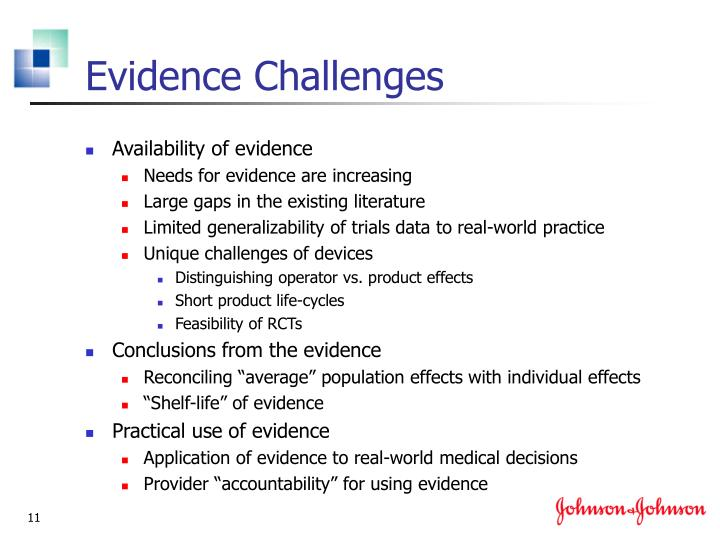 Evidence Challenges