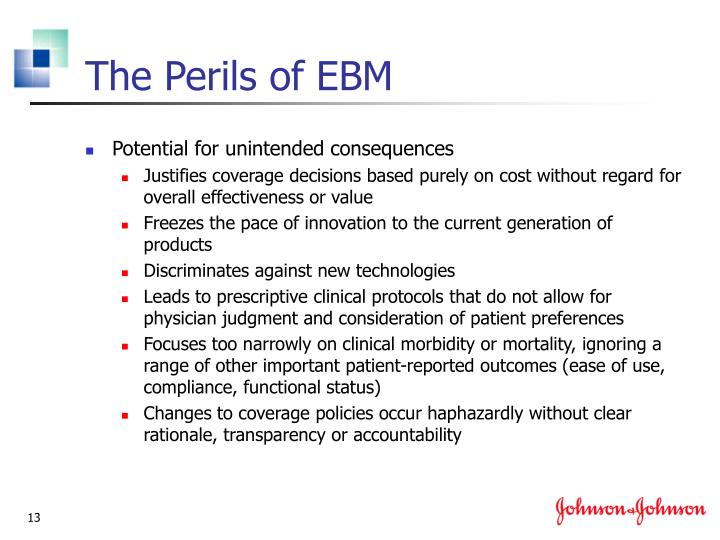 The Perils of EBM