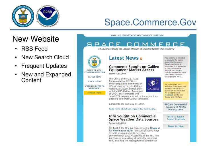 Space.Commerce.Gov