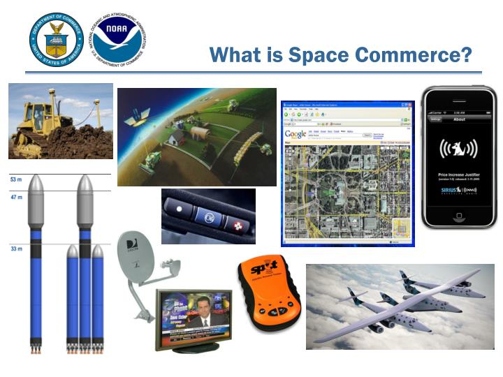 What is space commerce
