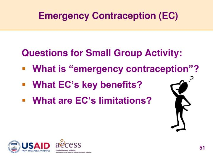 Emergency Contraception (EC)