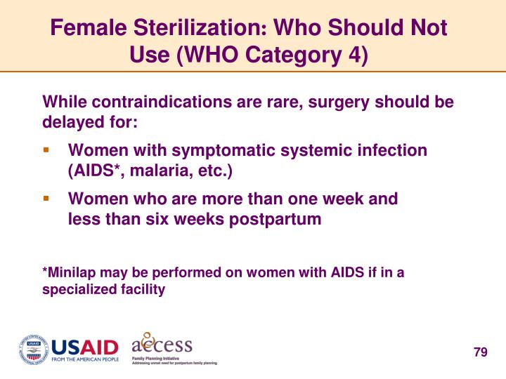 Female Sterilization