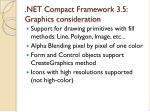 net compact framework 3 5 graphics consideration