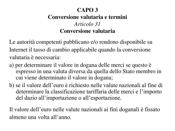CAPO 3