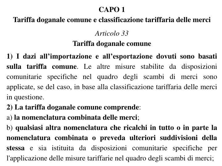 CAPO 1
